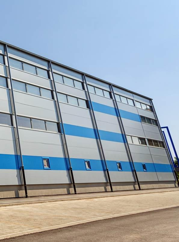 Commercial External Cladding